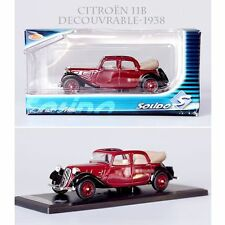 1/43 SOLIDO CITROEN 11B DECOUVRABLE 1938 BOXED METAL DIECAST