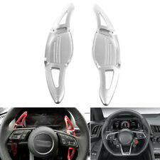 2pcs Steering Wheel Shift Paddle Shifter Extension for Audi R8 RS3 RS4 RS5 TT RS
