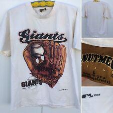 Vintage San Francisco Giants T-Shirt 1995 Size L 90s 1990s Nutmeg