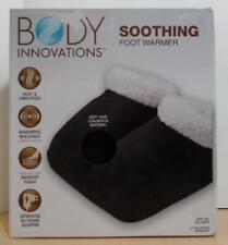 Body Innovations Massage Foot Warmer, One Size, Black