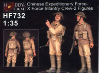 Hobby Fan 1/35 HF-732 WWII Chinese Expeditionary Force-X Force Infantry Crew