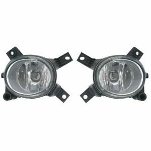 Fog Driving Lights Lamps Left LH & Right RH Pair Set for Audi S4 A3 A4 RS4