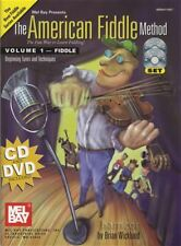 The American Fiddle Method Volume 1 Fiddle Music Book/DVD/CD Violin