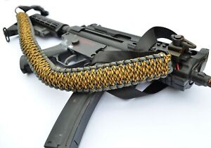 Paracord Gun Sling for Rifle Bow Shotgun 550 Sling 1 or 2 Point WASPS NEST