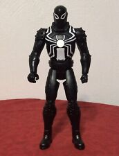 "Spider-Man Black 2014 Symbiote Marvel Legends 12"" Talking Action Figure Hasbro"