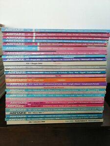 ABITARE rivista mensile di architettura design lotto 28 numeri 2000 - 2006