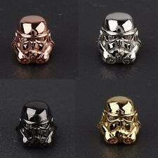 Starwars Stormtrooper Charm Beads Connector Cubic Zircor  Hand-made Bracelets