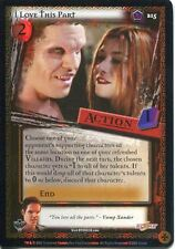 Buffy TVS CCG Limited Class Of 99 Premium Foil Card #215 I Love This Part