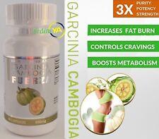 Garcinia Cambogia Fuerza Plus 100% Pure 60 cap  Weigth Loss 800 MG Fat Burner