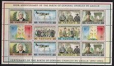 Vanuatu Stamp - General Charles De Gaulle Stamp - NH