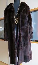 Authentic fur coat ermine. Ecter Pelz aus Wiesel. Real vintage from the late 80'