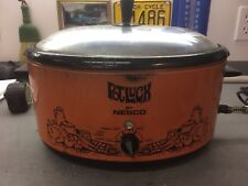 Vintage Large rare POTLUCK CrockPot Slow Cooker 5 QT Removable Stoneware 1960s