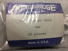4  mm Bicycle Axel Spacer Shim Alloy Pack Of #20
