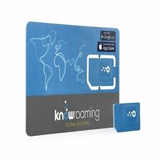 Knowroaming data sim card free global roaming whatsapp usage cheap data 4G/LTE