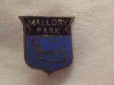 Anni 1960 Mallory Park Ufficiale PIN BADGE da M & B Birmingham ottime condizioni