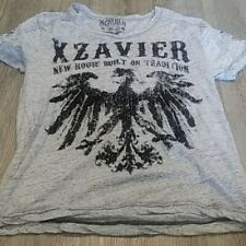 Xzavier T Shirt Size Men's gray and black Large