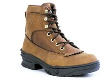 Roper Ladies 9 Lacers Horseshoes Crossrider Boots Western Riding Cowboy Boots