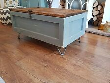 INDUSTRIAL style TRUNK COFFEE table storage trunk