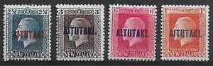 Aitutaki 1917 selection mounted mint