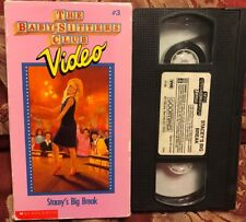 The Babysitters Club Vhs Video V3 Vol 3 STACEY'S BIG BREAK Combined shipping