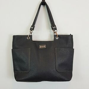 [ CELLINI Sport ] Womens Faux Leather Black Shoulder Bag / Handbag