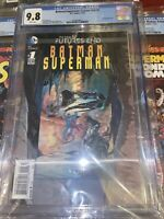 batman/superman cgc 9.8 The New 52 Futures End #1 3d Cover Dc Comics 11/14