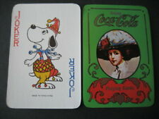 Coca - Cola Verde. Joker No. 69. Single Playing Card