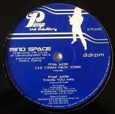 """MIND SPACE - Chi Town New York/There You Are (12"""") (G-/NM)"""