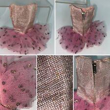 🌟Vintage 1963 Mattel Skipper Pink Ballet Class Ballerina Dress Tutu Costume
