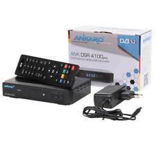 FULL HDTV Sat DVB-S2 Receiver Ankaro ANK DSR 4100 Aufnahmefunktion PVR HDMI USB