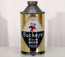 Buckeye •Irtp• •Bucky• Very Clean Cone Top Beer Can & Bottle Cap Toledo Ohio Old