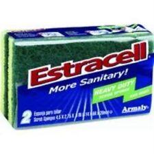 Brillo Estracell Heavy Duty Scrub Sponge, 2-Count