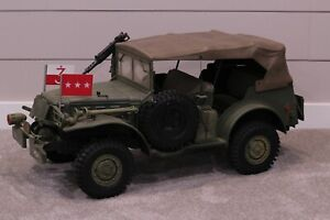 DML 21ST CENTURY TOYS ULTIMATE SOLDIER 1:6 SCALE WWII US ARMY DODGE COMMAND CAR
