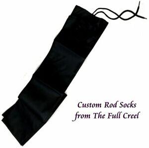 "Black Rod Sock - Custom 60"" long with 5"" pocket"