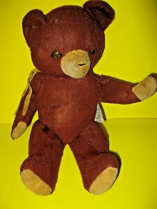"Vintage Jointed Knickerbocker 14"" Teddy Bear"