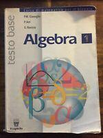 Algebra. Corso di matematica per il biennio. Per le Scuole superiori: 1 -