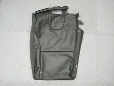 GENUINE VOLVO XC60 LEFT HAND REAR SEAT BACK COVER BLACK LEATHER 39804744