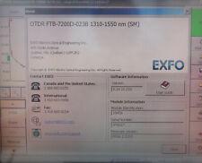 Expo Ftb 7200d 023b E1 1310 1550nm Tested