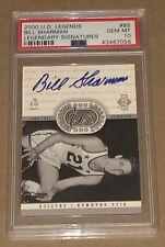 Bill Sharman 2000 Upper Deck Legendary Signatures Autograph AUTO PSA 10 *POP 3*