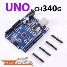 Clon UNO r3 sin CABLE 100% Compatible CH340G ATMega328P SMD Arduino