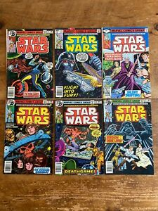 Star Wars #19 #20 #21 #22 #23 #24 Marvel Comics 1979 COMBINE SHIPPING z