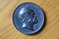 MEDAGLIA A FRANCESCO GIUSEPPE I AUSTRIA CIVITAS ASTENSIUM QUINTINO 1884 GIORGI