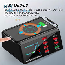 8 Usb Ports Dock Station Multi-function X9 Wireless Fast Charger 100W Us