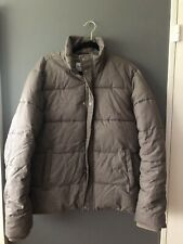Mens Topman Quilted Puffer Jacket Coat Large