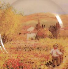 Email de Limoges IMPRESSIONIST PAINTING PLATE porcelain Godinger? Van Gogh Monet