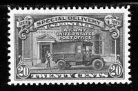 USAstamps Unused XF-S US Special Delivery Scott E19 OG MNH Superb Jumbo