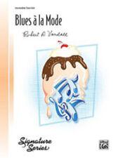 Blues a la Mode (intermediate piano); Vandall, Robert D., Piano Solo - 28194