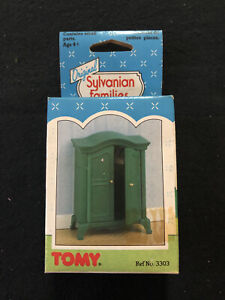 Original Sylvanian Families 1987 Wardrobe - New In Box