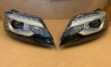 Audi Q7 OEM Facelift Xenon Dynamic Headlights SET LHD 09-> Tri Xenon
