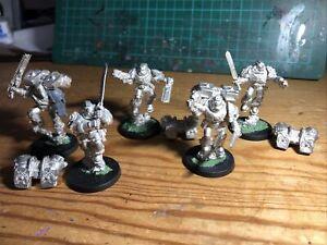 space marine vanguard veterans - Old Metal Original